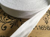 Cotton Tape for Aprons & Bunting White 50 metres x 25mm