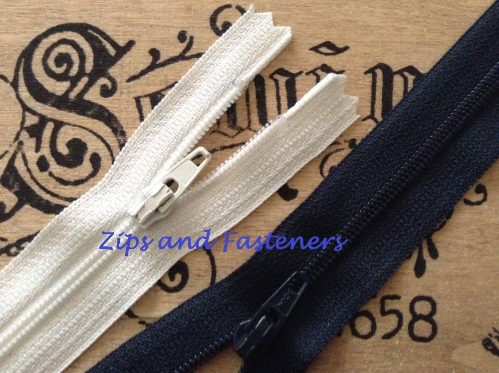 Zip Fasteners Zippers