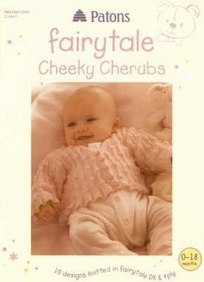 Patons Fairytale Cheeky Cherubs DK & 4Ply Knitting Book