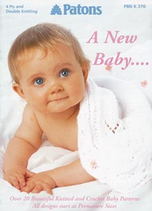 Patons A New Baby Knitting Crochet Patterns Book