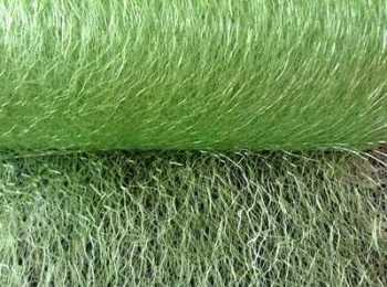 Lime Green Spider Web Net 15cm Netting Craft Material 1m Club Green