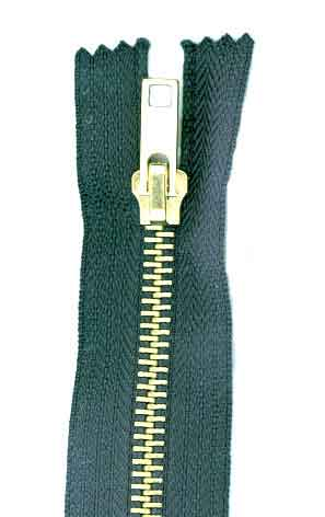 zips fasteners metal nylon plastic open closed end