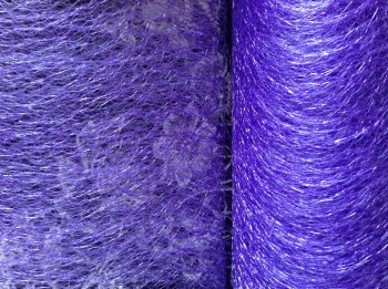 Spider Web Netting Sold By Half Metre Length Purple