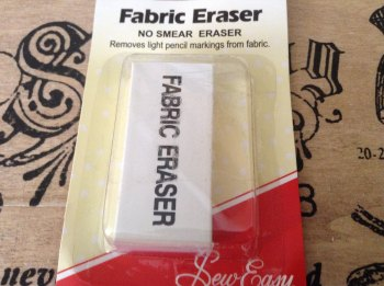 Fabric Eraser for dressmaking Sew Easy ER291