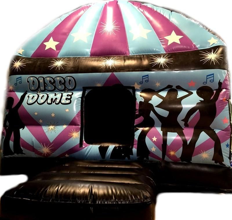 Disco Dome Castle PurpleBlue