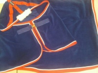 Horse Fleece travel rug - Bespoke -  Made in your colours