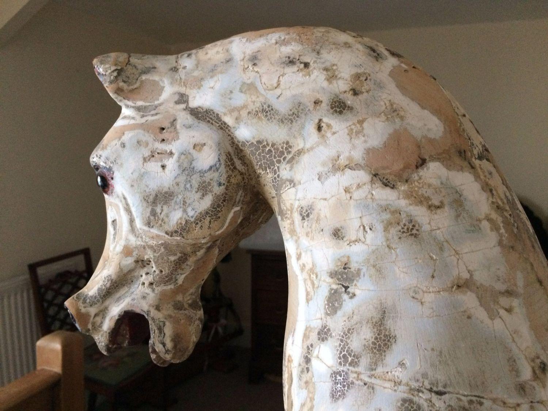 Antique Rocking horse on Bow Rocker