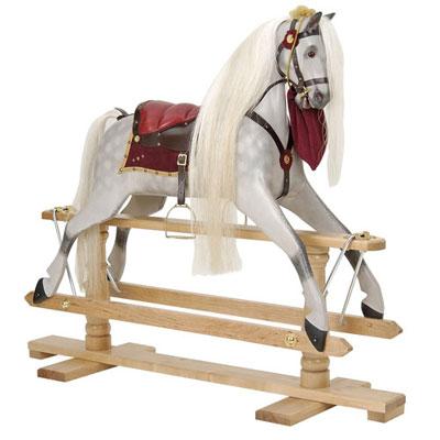 Rivelin Dapple Grey Rocking horse
