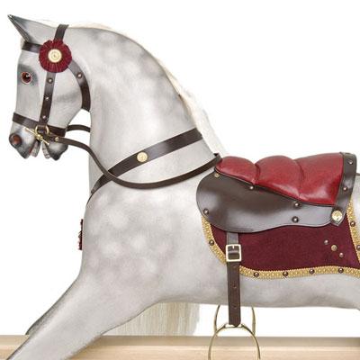Rivelin light dapple grey rocking horse