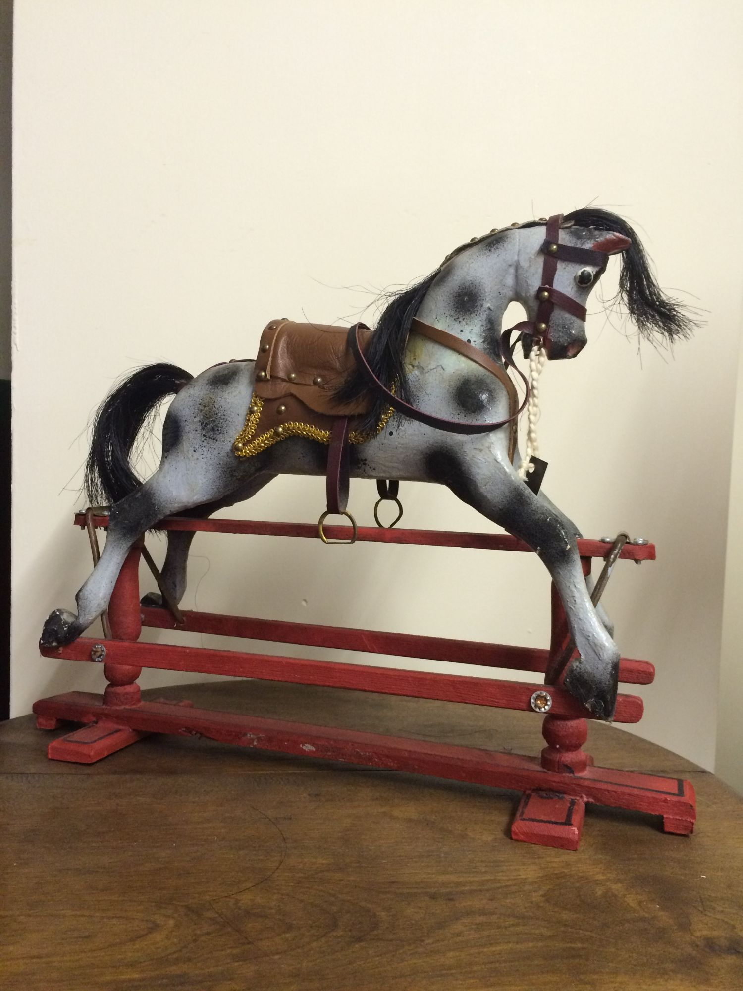 A miniature rocking horse by David Postin