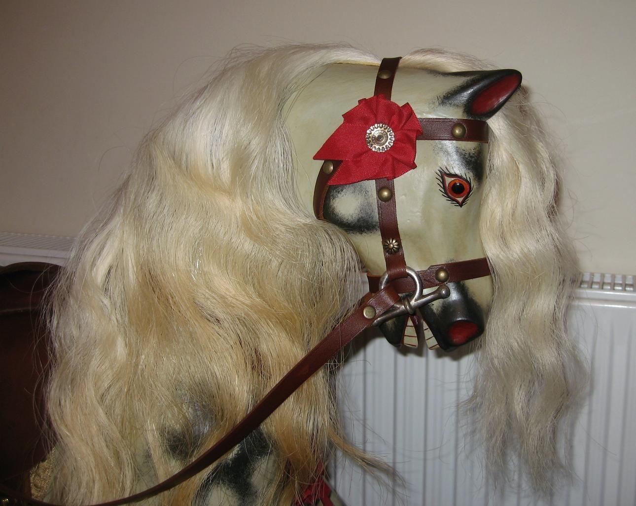 Sold - Lines bros rocking horse restored.