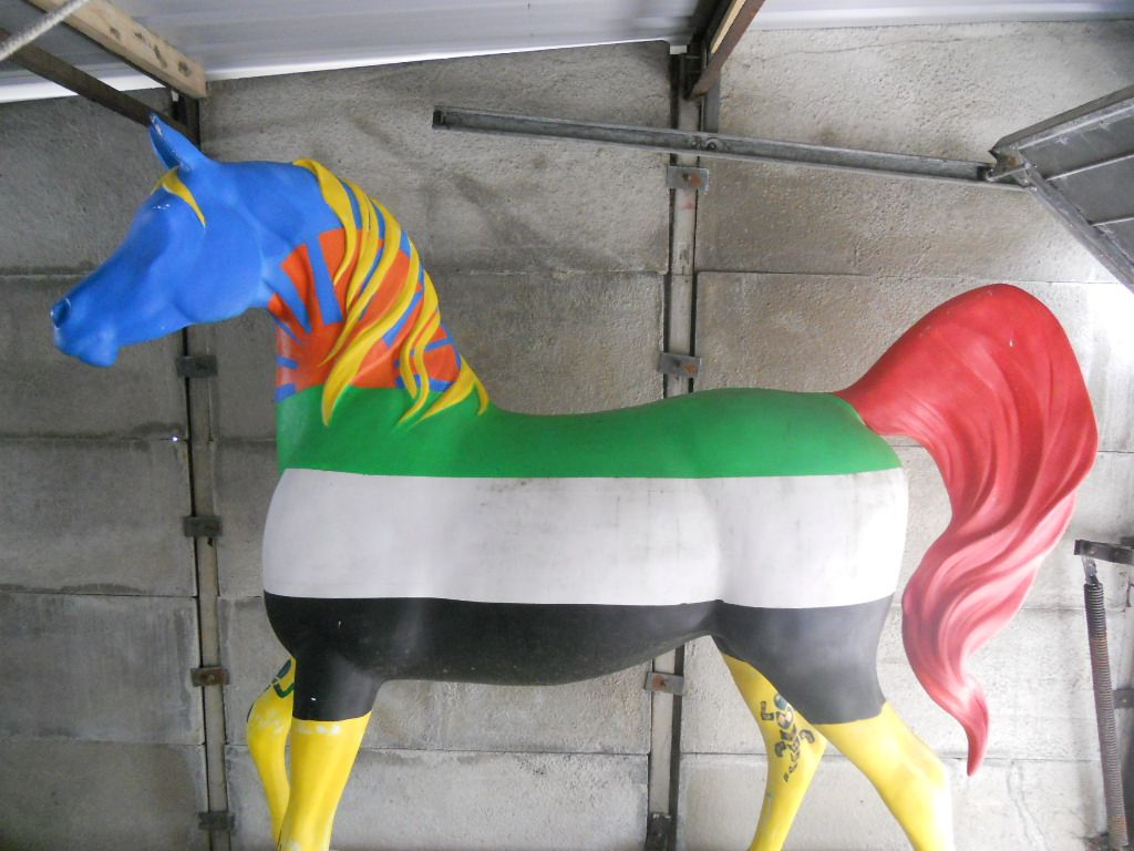 Sold - Lifesize Arab horse