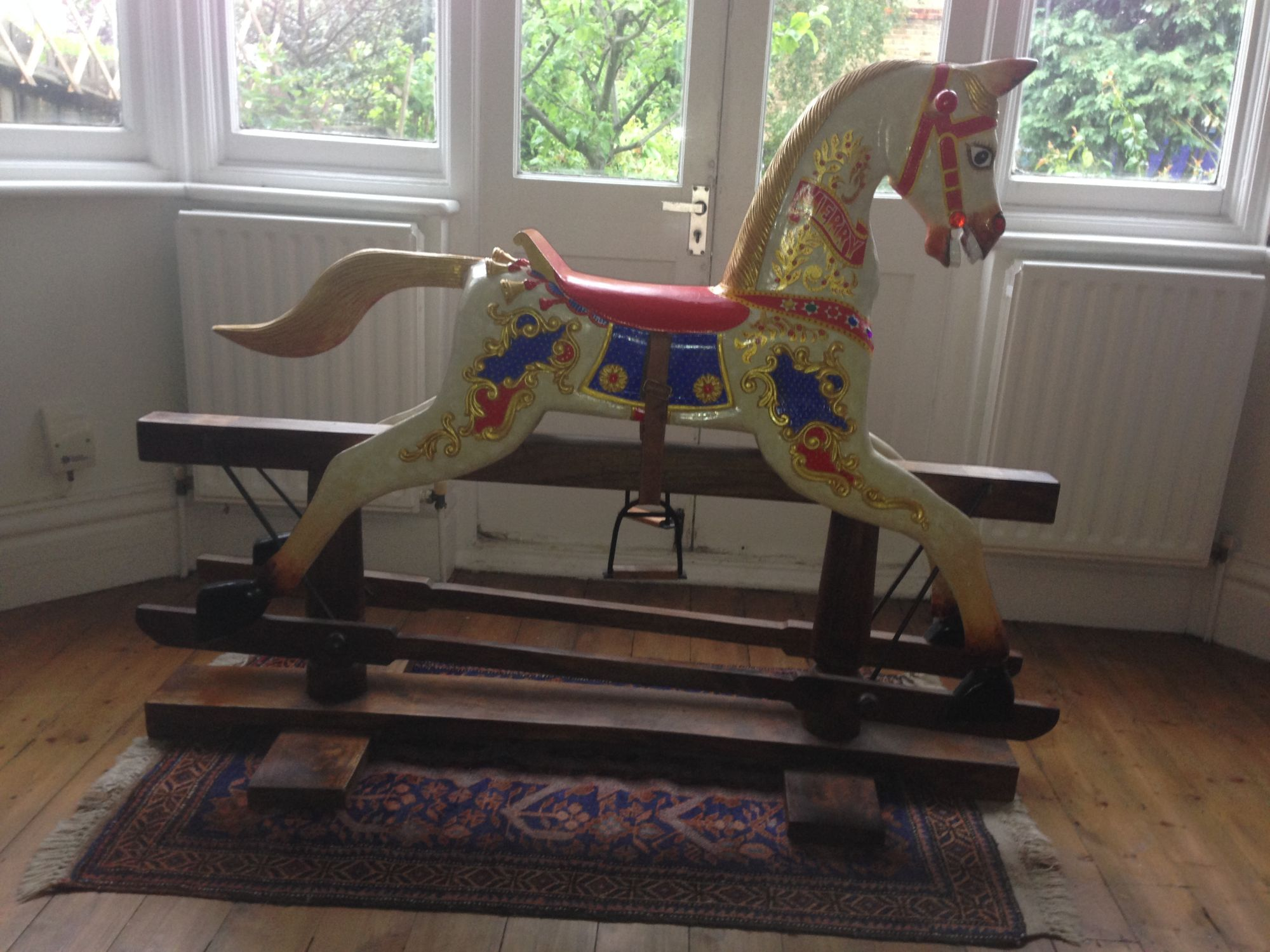 For Sale - Carousel type rocking horse