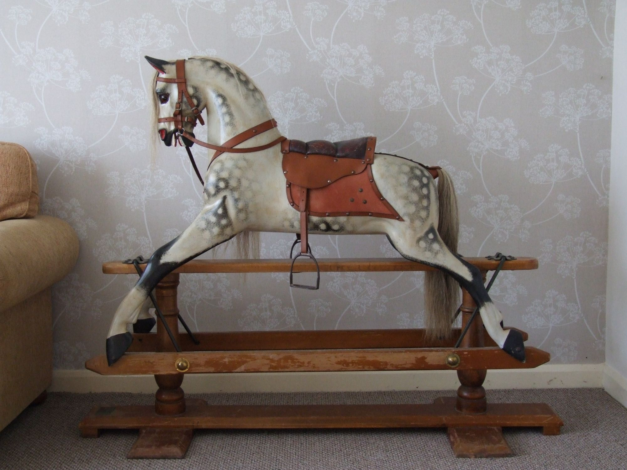 Stevenson Brothers rocking horse in style of F H Ayres