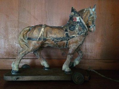 For Sale -  Vintage toy horse