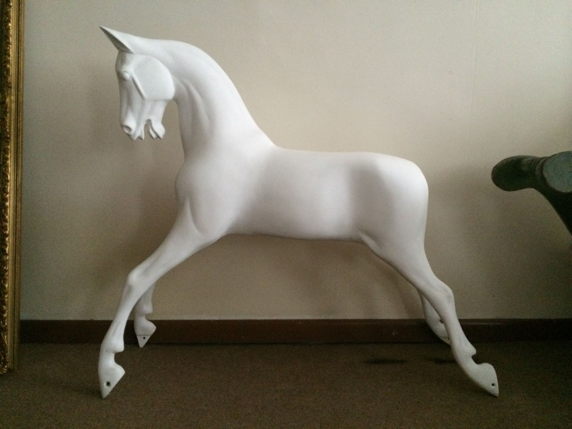 A Rocking Horse similar to Haddon of medium size having undergone a Bespoke restoration.