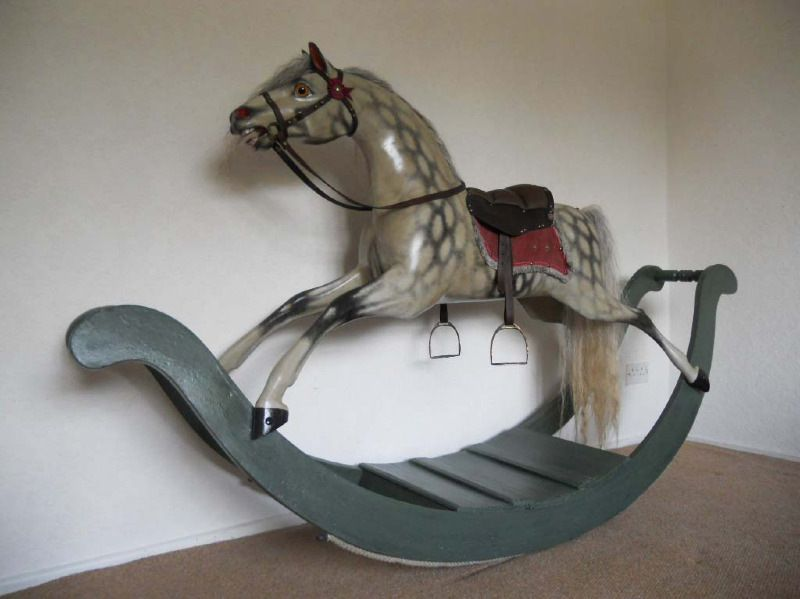 Cassilli House Bow Rocking Horse