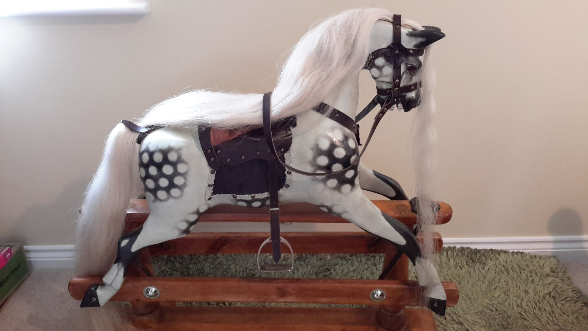 For Sale - Antique J R Smith restored rocking horse