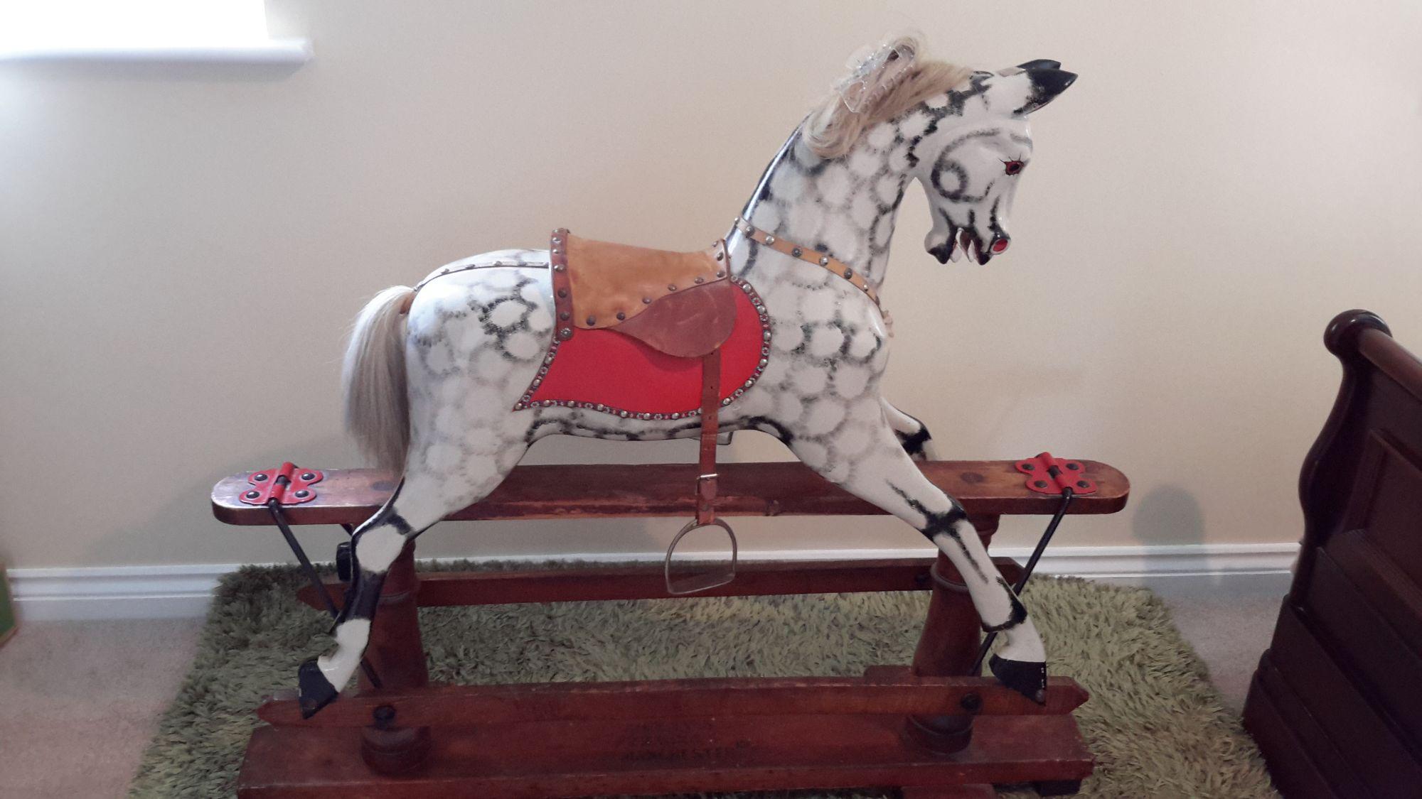 For Sale - F H Ayres antique rocking horse Henry