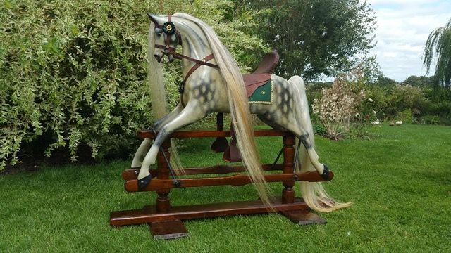 Rare Bronco rocking horse for sale