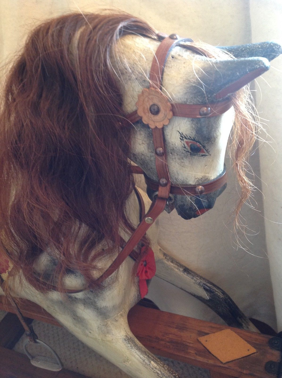 Collinsons rocking horse for sale restored