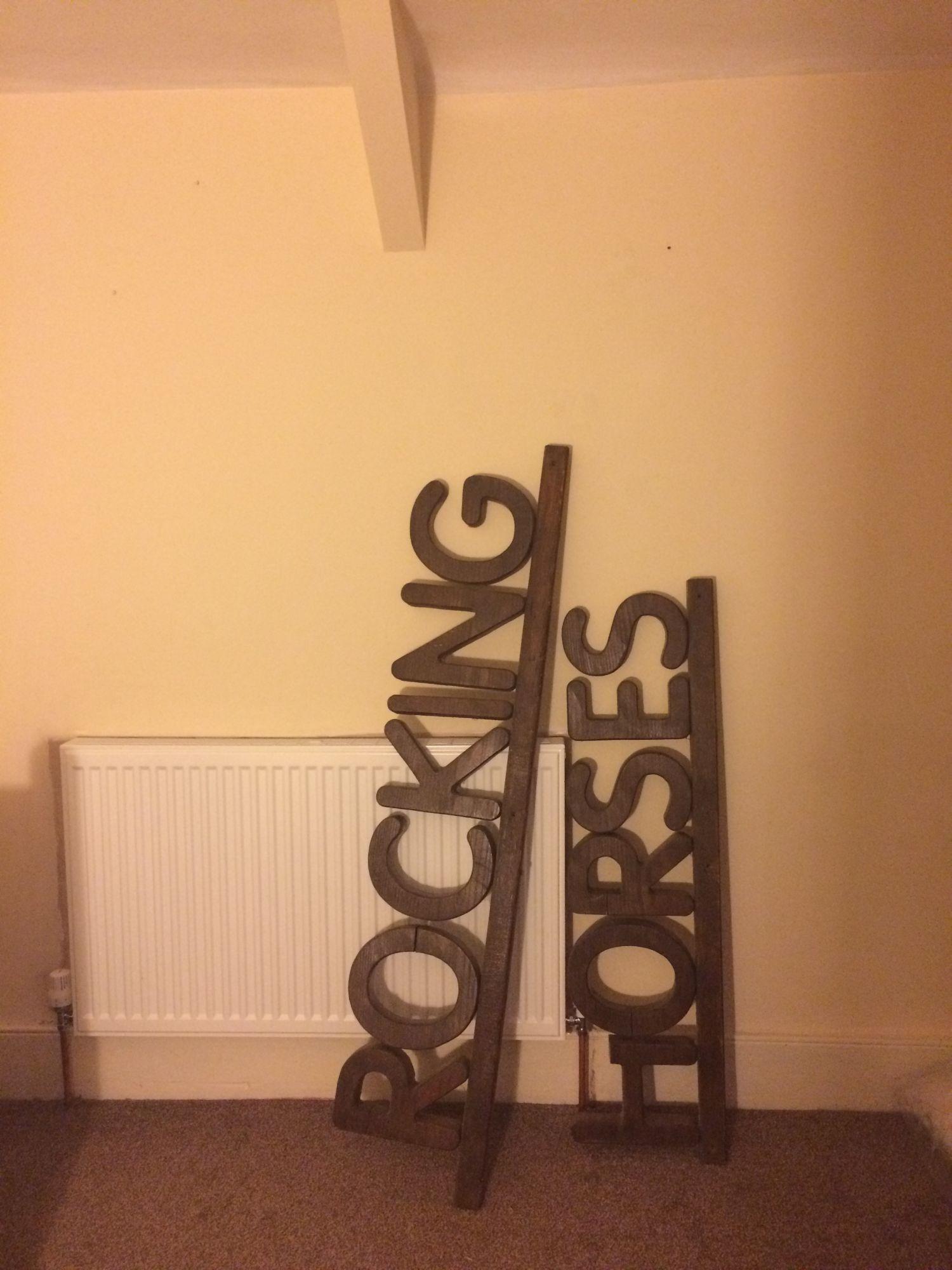 Rocking Horses Sign