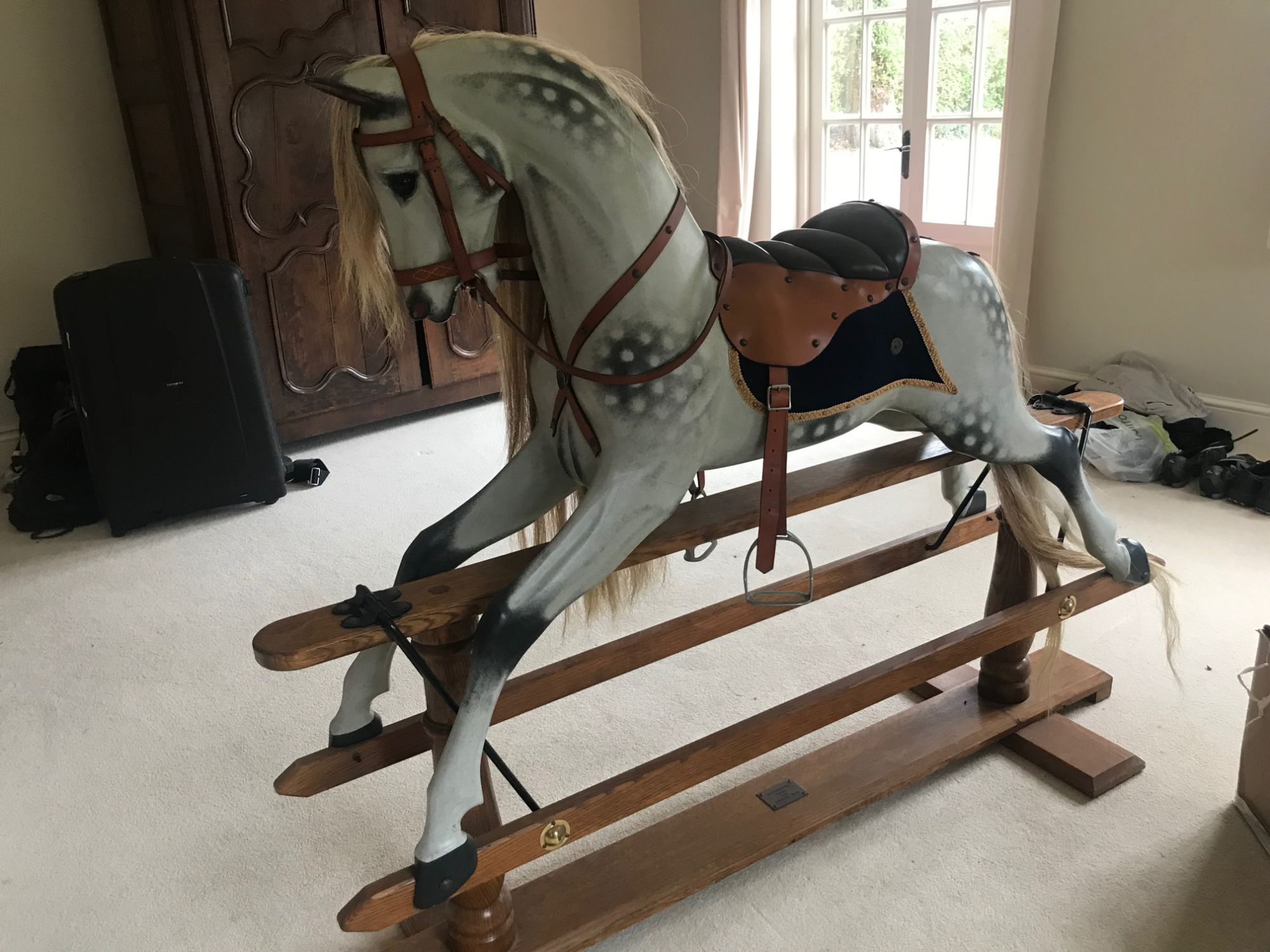 Legends Rocking Horse for sale - Dapple grey