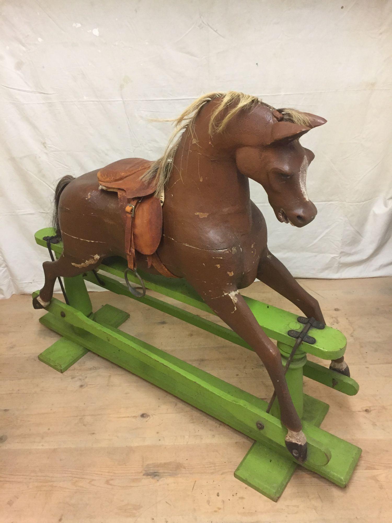 Brassington & Cooke rocking horse