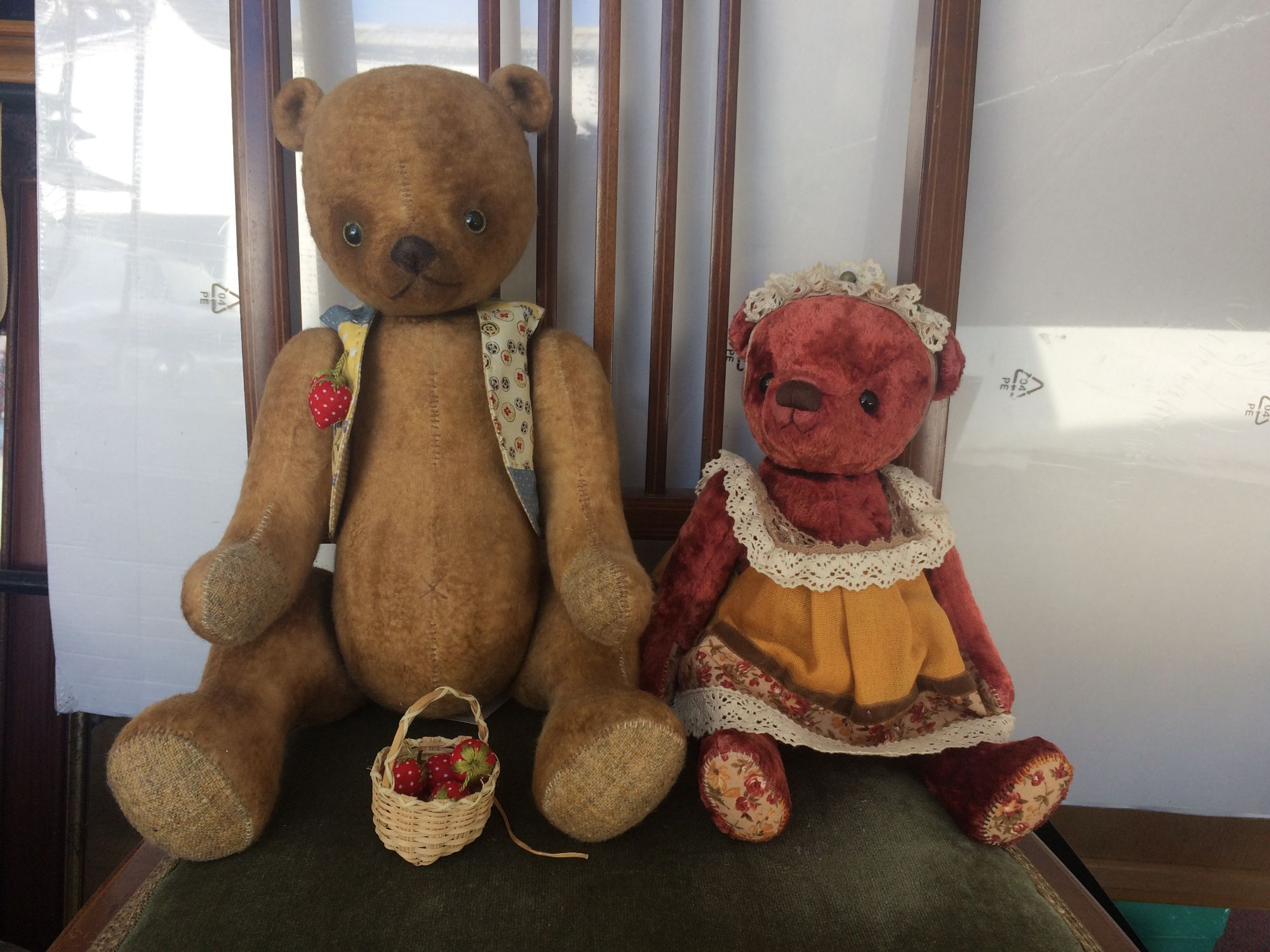 Teddy bears Antique style