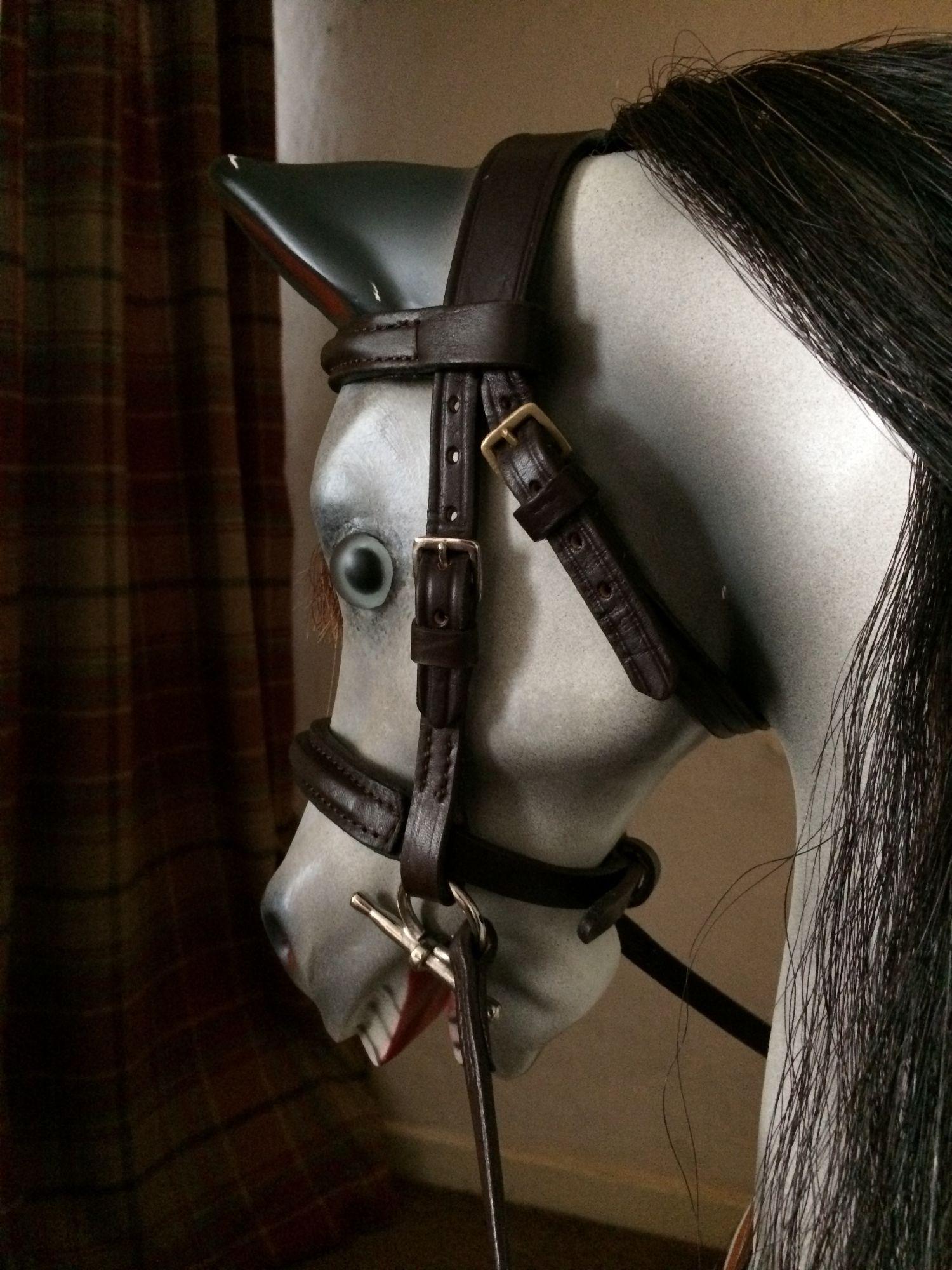 Fiberglass rocking horse