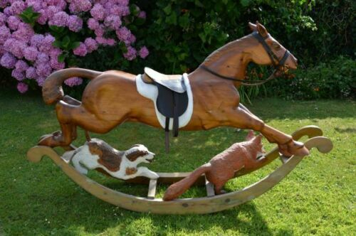 Charlie - Large Collinson & Sons Rocking Horse For Sale
