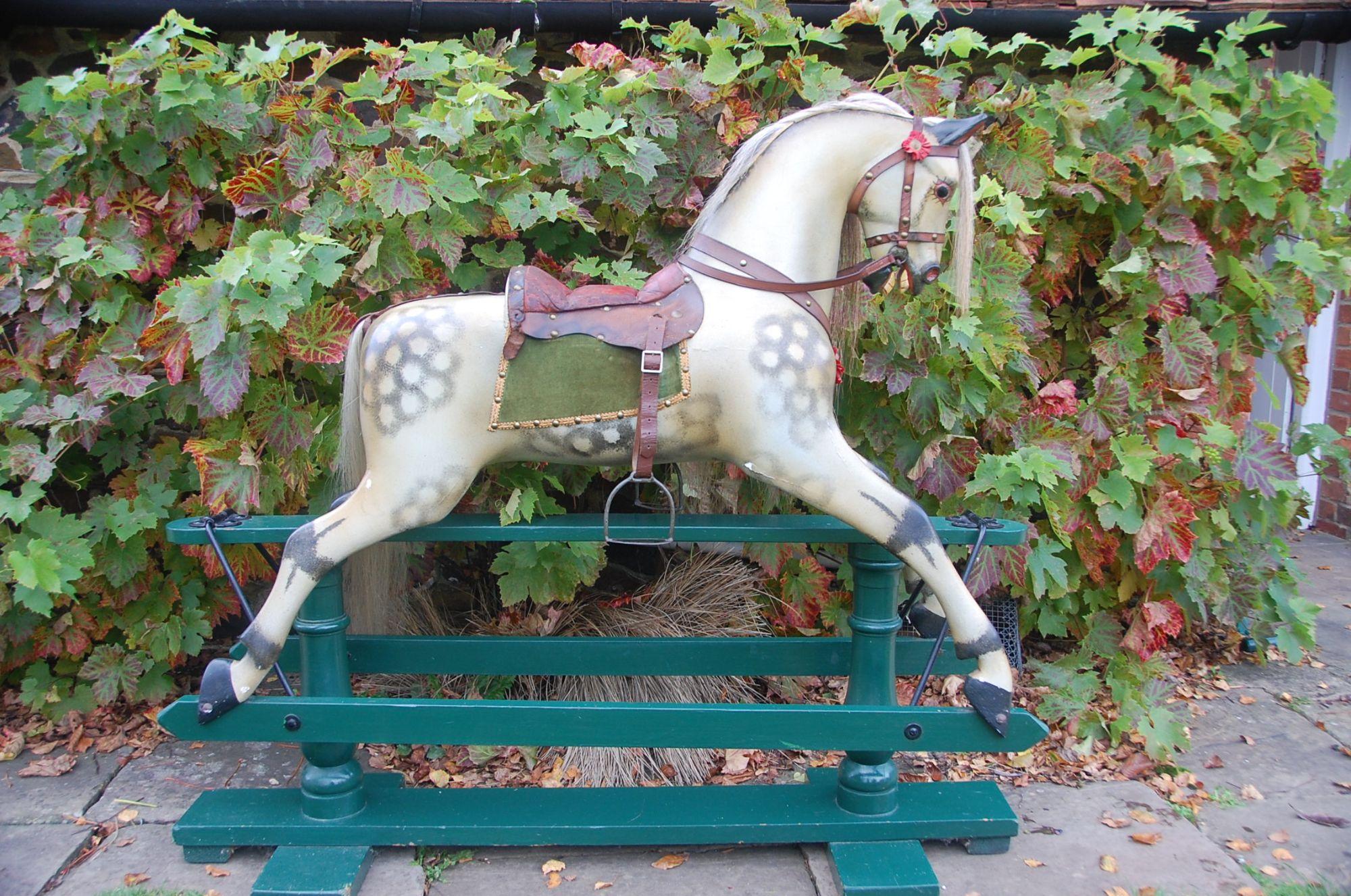 F H AYRES Rocking horse antique for sale