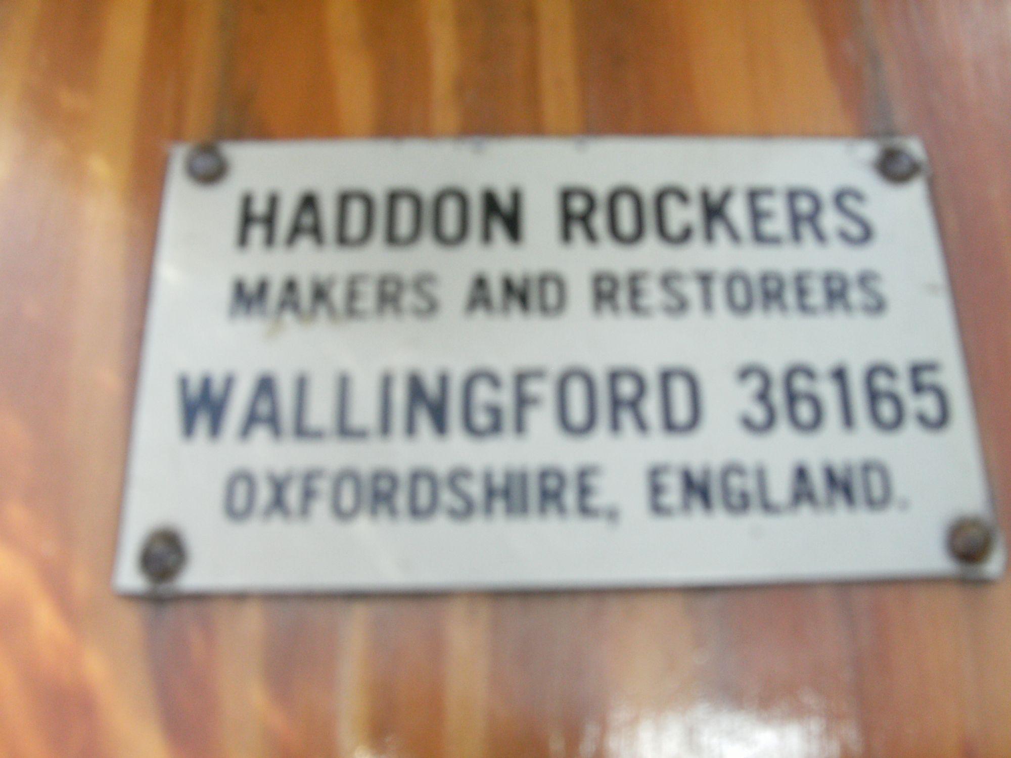Haddon Rocking Horse Plaque