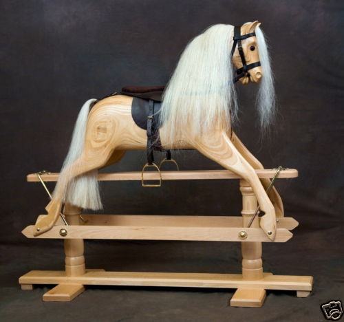 Rivelin3rocking horsewith removable tack