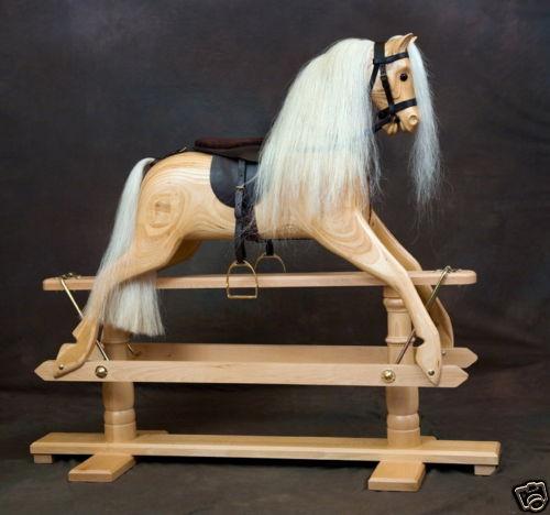 Default imageWood rocking horse Rivelin 3