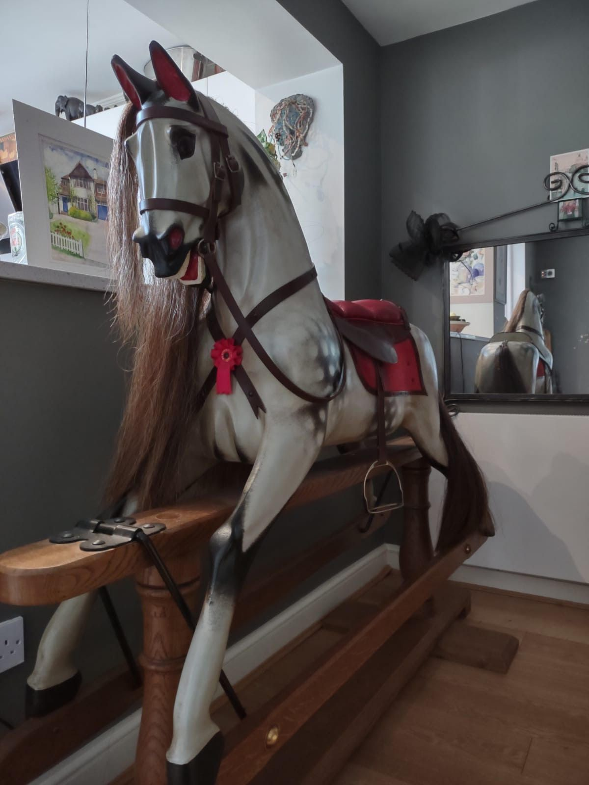 Stevenson Brothers F H Ayres Rocking Horse