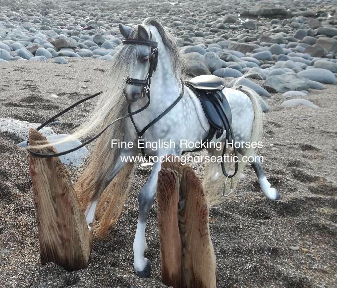 Haddon rocking horse realistic restoration