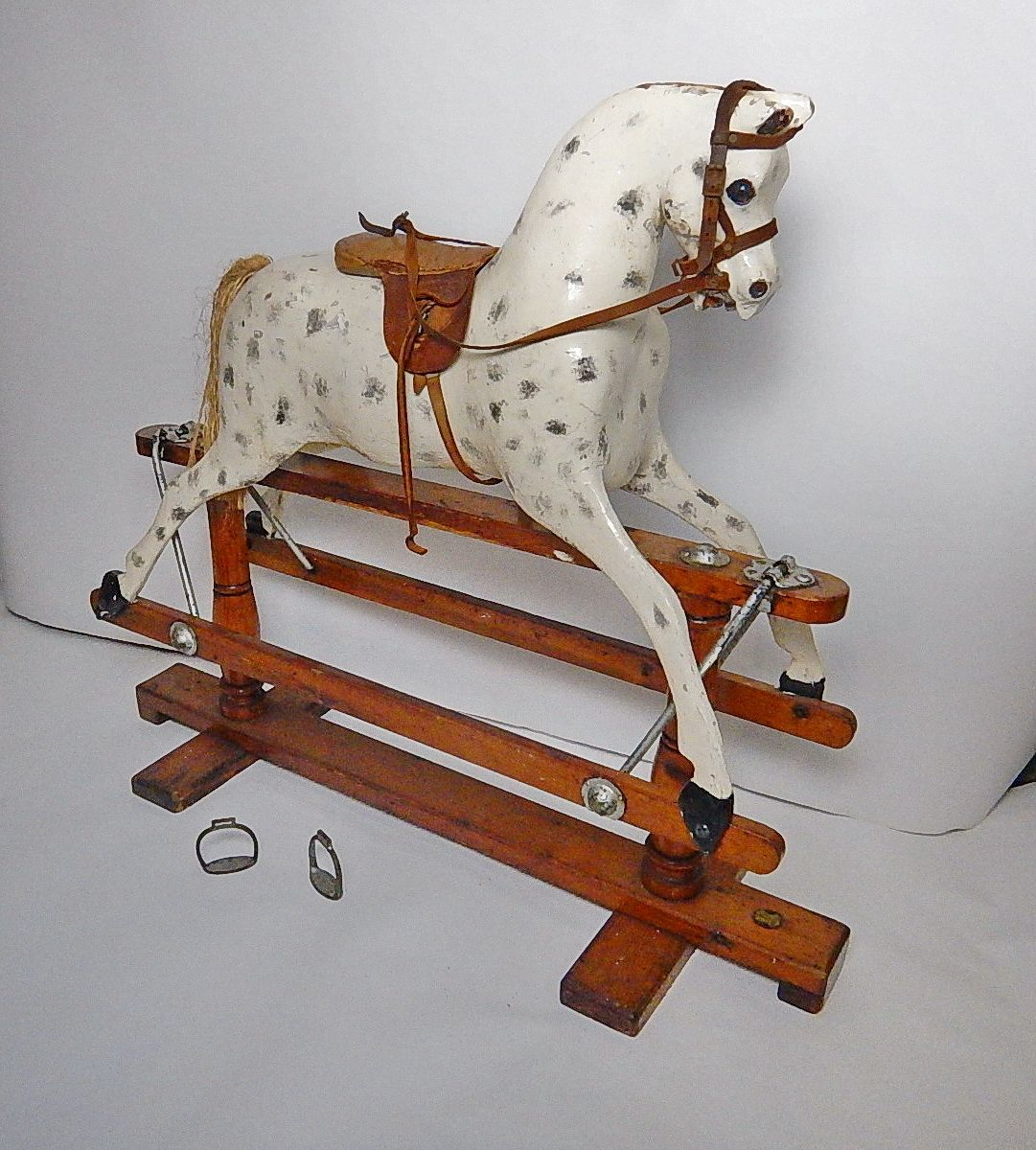 For Sale ~ 00 Lines Brothers Sportiboy Rocking Horse
