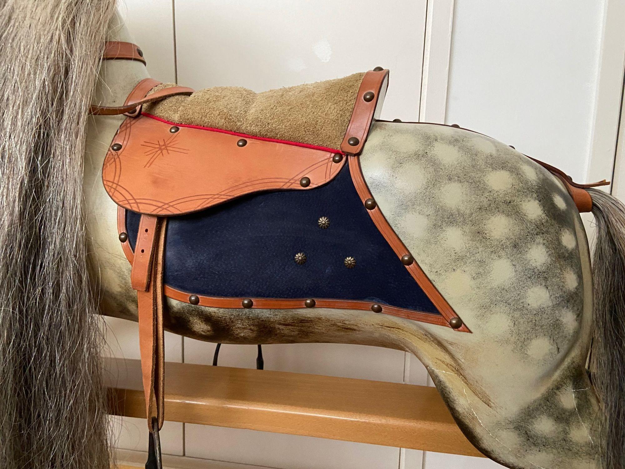 Stevenson Brothers Large F H Ayres Rocking Horse For Sale