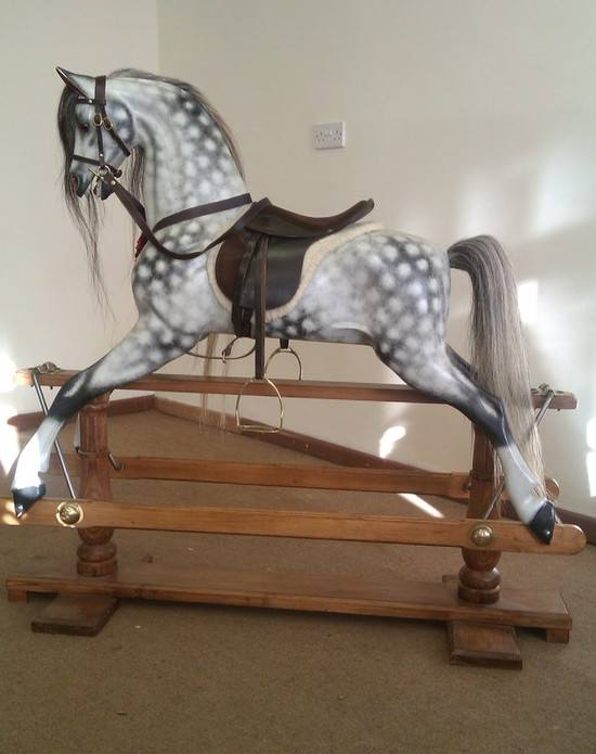 Dapple Grey Horse By Jan Rusling7
