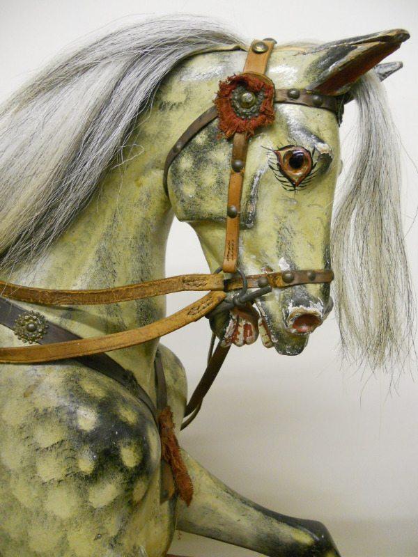 Leach Rocking Horse head