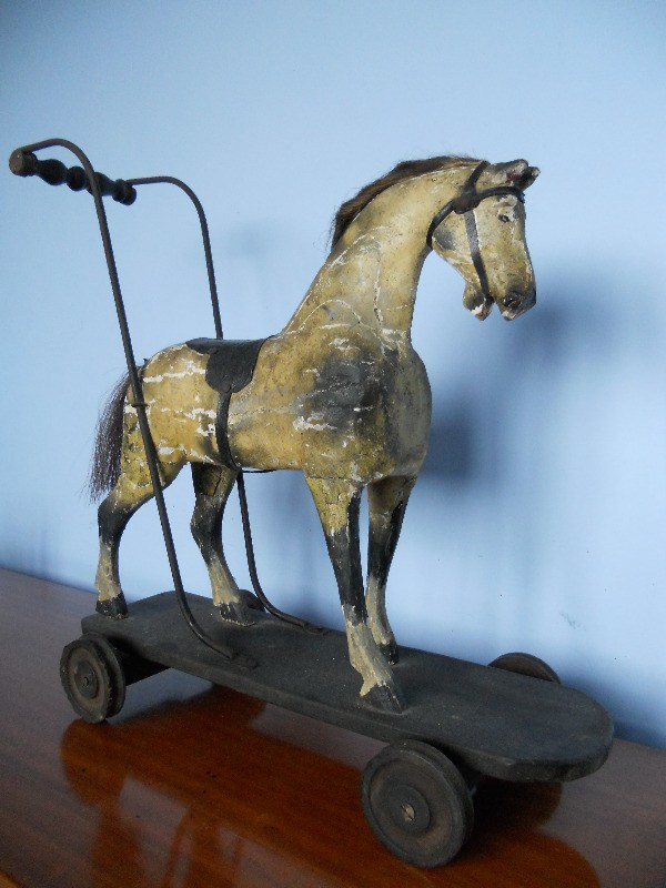 Bracken Old Toy Push Horse 2
