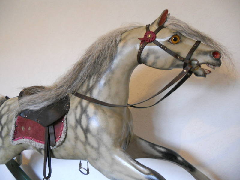 Bow rocking horse Cassilli Castle