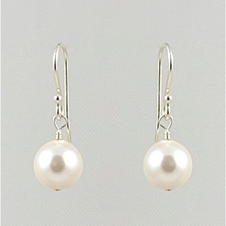 Classic Crystal Pearl Earrings