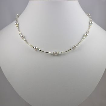 Swarovski Pearl and Crystal Necklace