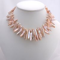 BIWA Stick Pearl Necklace