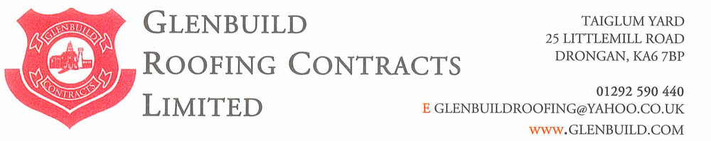 Glenbuild Roofing Contracts Limited, site logo.