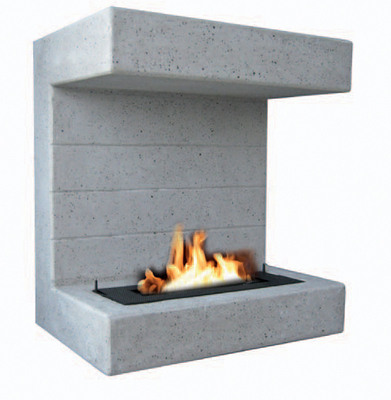 Salerno Wall hanging Bioethanol Outdoor Fire