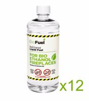 Bio Ethanol Fuel 12L (12x1L bottles)