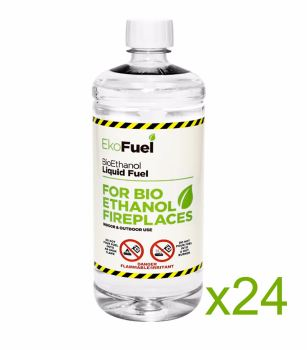 Bio Ethanol Fuel 24L (24x1L bottles)